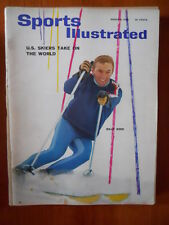 Sports Illustrated #8 1965  - Billy Kidd U.S. Skiers take on the world   [D24]