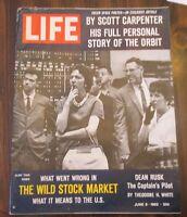 Life Magazine June 8, 1962 Story of the Orbit by Scott Carpenter