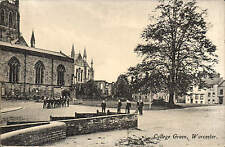 Worcester. College Green by W.G.Large & Son, Worcester.