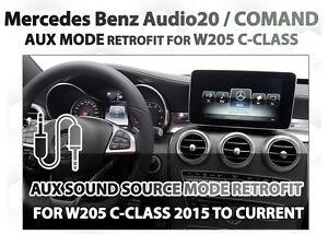 Mercedes Benz W205 C-Class GLC Class Audio  NTG5.0 Audio20 COMAND Aux Retrofit