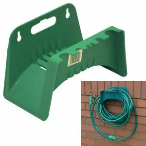 NEW Wall Mounted Garden Hose Pipe Hanger Holder Storage Bracket Shed Fence Cable