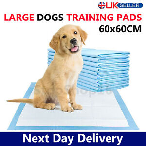 Heavy Duty Dog Puppy Large Training Pads Wee Wee Pad Floor Toilet Mats 60 x 60cm