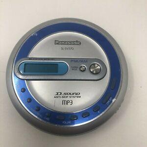 Panasonic SL-SV570 Portable CD MP3 Player with AM FM Radio