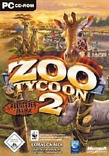 ZOO TYCOON 2 Abenteuer Afrika Deutsch GuterZust.