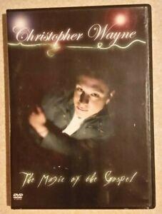 CHRISTOPHER WAYNE: The Magic of the Gospel (DVD, 2007) CHRISTIAN/ RELIGIOUS/ R4