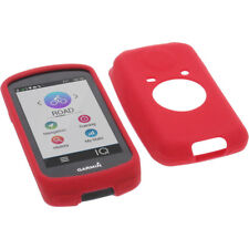 Funda para Garmin Edge 1030 Funda Protectora de Silicona Goma Funda GPS Rojo