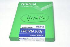 Fujifilm Fujichrome Provia 100F Professional RDPIII Color slide film 4x5 10sheet