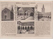 ITALIA 1940 PERUGIA OSPEDALE MILITARE DI S.GIULIANA