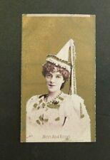 Cigarette Card Sniders & Abrahams 1904 Actresses (Talma) Miss Ada Reeve