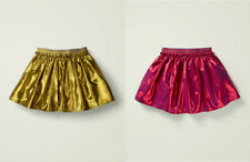 New Mini Boden Metallic Party Skirt 5-16 years Christmas Gold Pinky Red