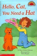 Kids fun paperback:Hello Cat You Need a Hat=grumpy cat hates hats,girl keeps try
