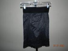 FLEXEES Tummy/Thigh/Buttock Half Slip Shaper Size 32 black