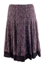 Gianni Bini Women's Pleated Floral Silk Molly Skirt-V-6