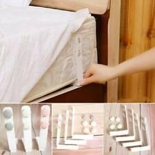 4pcs Bed Sheet Mattress Holder Fastener Grippers Clips Suspender Straps ABS JD