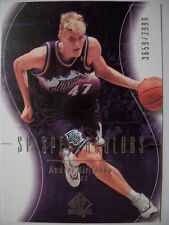 2003-04 SP AUTHENTIC ANDREI KIRILENKO # 130  JAZZ !!! BOX # 33