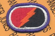 4th Bn 25th Special Troops Bn STB Alaska Airborne para oval patch #3 m/e