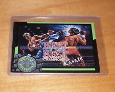 Rare & Collectible 1993 TEAM BLOCKBUSTER #07 Best of the Best Karate Card - NM