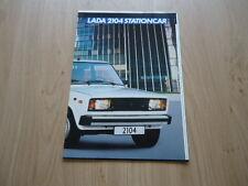 LADA 2104 ESTATE BROCHURE / PROSPEKT (P)