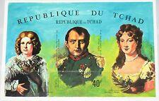 Chad chad 1971 bloque 17 B S/s c63d Napoleón Bonaparte 150th Death Ann mnh