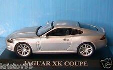 JAGUAR XK COUPE 2005 IXO 1/43 VOITURE DE REVE SILVER METAL ARGENT SILBER