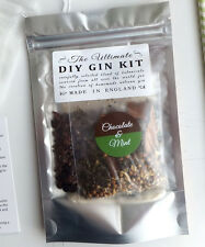 DIY Chocolate & Mint Gin Botanicals Kit - Homemade gin Vodka Infusion flavouring