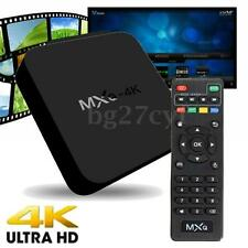 MXQ 4K Smart TV Box Android 4.4 Quad Core XBMC Fully Loaded Media Player