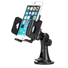 Car Mount Dash Windshield Holder Cradle Rotating Dock Suction for Smartphones