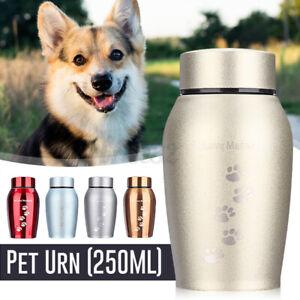 Mini Urn Cremation Funeral Pet Cat Dog Memorial Keepsake Ashes Urns Storage  A