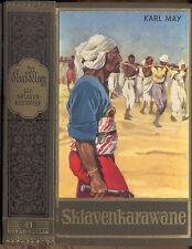 Karl May, sklavenkarawane, mineral. a. sudán, capturados obras Band 41 Ustad-Verlag