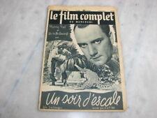 *** Film Complet n° 2489 (14/05/1941) - Un Soir d'Escale