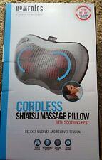 Shiatsu Massage Pillow Heat massage Homedics cordless