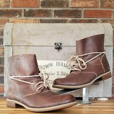 TIMBERLAND EARTHKEEPERS Women's Brown Leather Boots Shoe Size 8.5