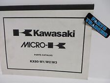 NOS Kawasaki Micro-K Parts Catalog KX80 KX 80 1998 98 1999 99 2000 00