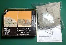 MODEL VICTORIA 4024 - MOUNTAIN DIORAMA - 1/35 RESIN KIT