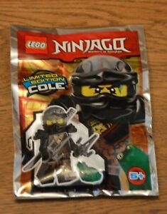 Lego® Ninjago™ Limited Edition Minifigur Cole mit Frosch Neu & OVP 2017