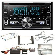 Kenwood dpx-7100dab DAB + usb mp3 iPhone Kit de montage pour audi a3 8p 8 pa