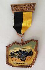 Mercedes Volkswanderung 1982 Germany Auto LARGE Medal Badge Pin Rare (N10)