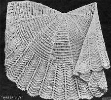 VINTAGE SHAWL  ROUND / 2ply - COPY baby shawl pattern