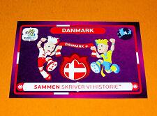 35 MASCOTTES DANMARK  DANEMARK FOOTBALL PANINI UEFA EURO 2012