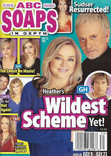 ABC Soaps In Depth Magazine - July 23, 2012 - Robin Mattson & Anthony Geary