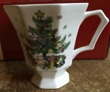 Nikko Christmastime Set of 4 Coffee Mug Classic Collection Christmas Holiday Box
