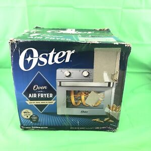 Oster Countertop Oven with Air Fryer Silver #BU6197