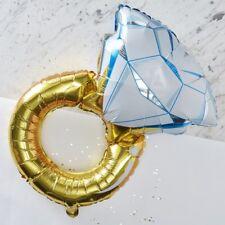 FOIL RING BALLOON - I DO CREW, Wedding,Bride-Groom,Decoration,Backdrop,Bunting