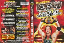ECW: Extreme Championship Wrestling - Path Of Destruction DVD New Rare WWE WWF