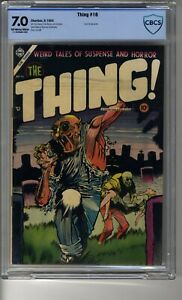 Thing # 16 (1952) - CBCS 7.0 OW/White Pages - Contains Eye Injury Panel