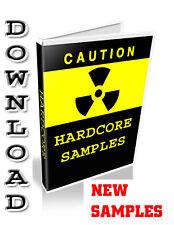 HARDCORE  SAMPLES - REASON REFILL - STEINBERG HALION - CUBASE - FL STUDIO - WAV