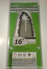 Bar And Chain Combo 16 Inch, 54 Link Picco - 3/8 Low Profile , McCulloch