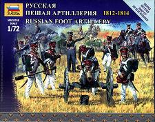 Zvezda 1/72 6809 Russian Foot Artillery 1812-1814 (Napoleonic Wars)