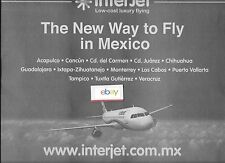 INTERJET MEXICO AIRBUS A320 LOW-COST LUXURY FLYING NEW WAY TO FLY IN MEXICO AD