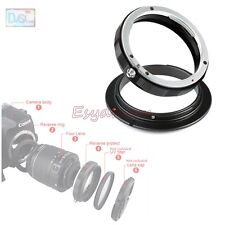 EOS-58 Reverse Macro Adapter + 58mm Rear Lens Filter Ring For Canon EOS EF Mount